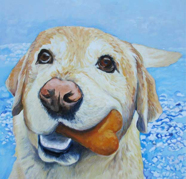 dog-paintings-labrador-retriever